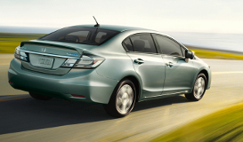 Honda Civic 1.4 hybrid
