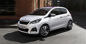 Rent a Peugeot 108 in Athens